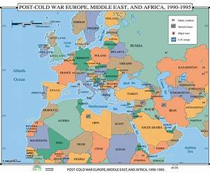 Universal Map World History Wall Maps - Post Cold War ...