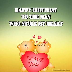 Birthday Wishes for Boyfriend - Occasions Messages