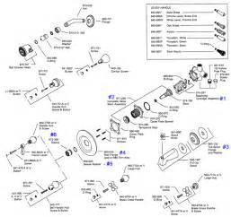 Delta Shower Head Parts Picture