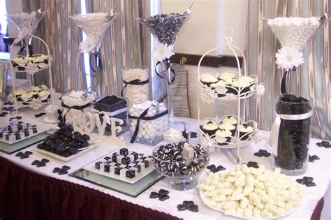 black and white candy table 10 off your bespoke designed candy bar when you book