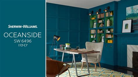 sherwin williams  color   year oceanside