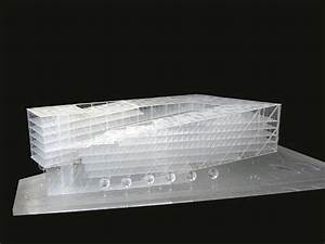 Jti Hq By Som Architects Full Acrylic Model  Showing Floor