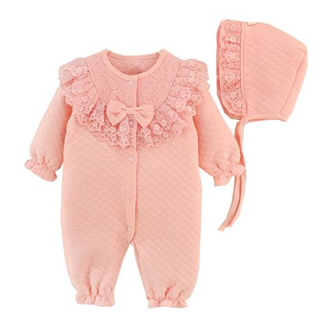 Infant Clothes by Newborn Baby Clothes Cotton Coveralls Rompers
