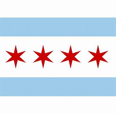 Svg Chicago Flag Municipal Wikipedia Userbox 1047