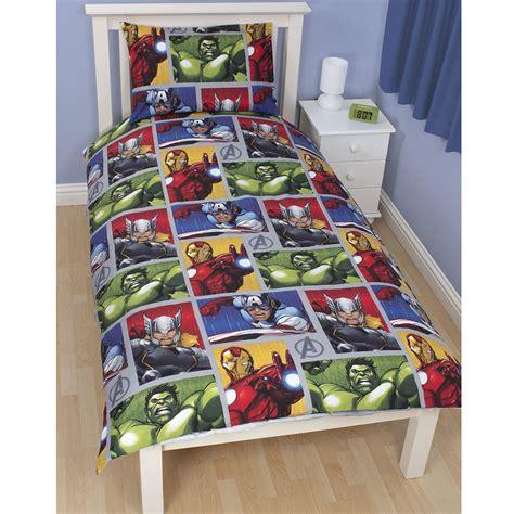 Avengers Bedroom Furniture by Official Avengers Marvel Comics Bedding Bedroom