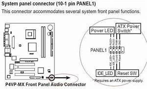 Dell xps motherboard diagram dell free engine image for for Front panel diagram