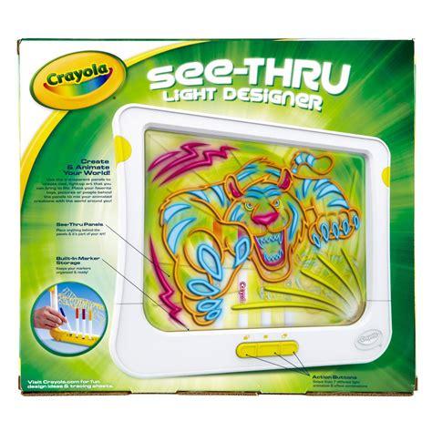 crayola light up board crayola see thru light up designer childrens kids