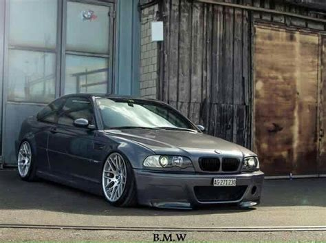 bmw e46 m3 grey slammed badass e46 m3 bmw e46 and bmw
