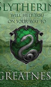 Slytherin Crest Snake Wallpaper | 2021 Live Wallpaper HD