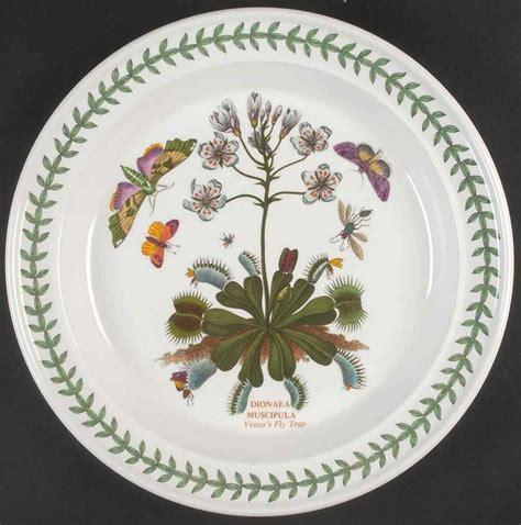 portmeirion botanic garden venus flytrap dinner plate
