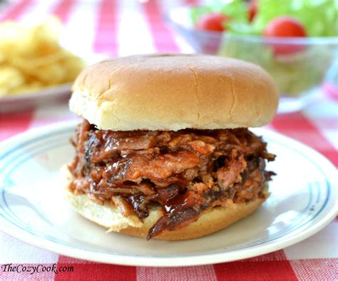 crock pot pulled pork the cozy cook