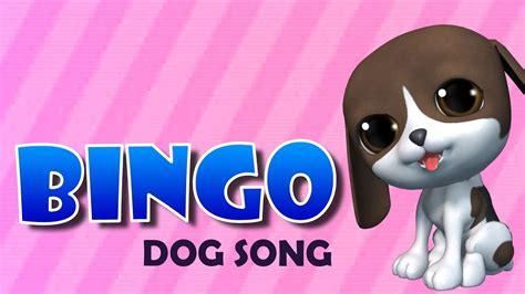 bingo dog song  animation nursery rhyme song