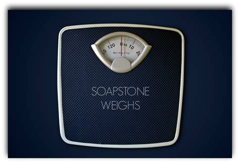 how much does my weigh seattle soapstone