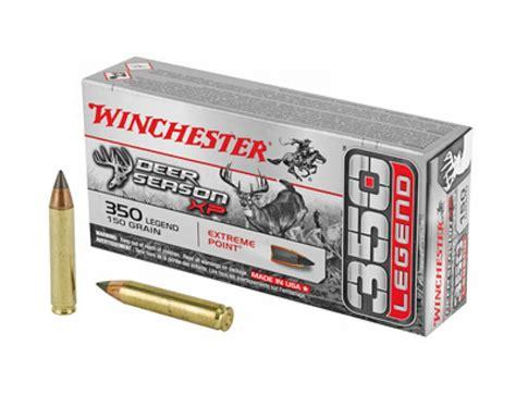 Winchester Deer Season Xp 350 Legend Rifle Ammo X350ds