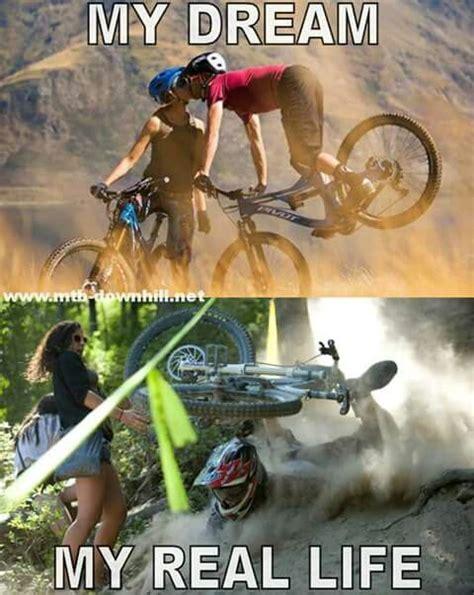 Funny Bike Memes - expectation vs reality mtb funny memes funny mtb memes pinterest funny funny memes and vs