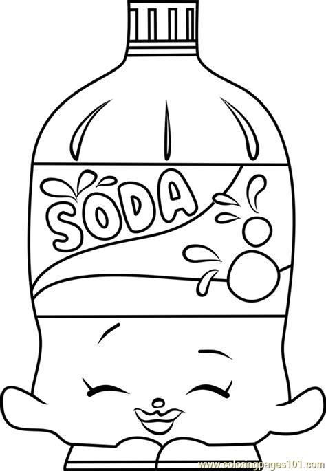 soda shopkins coloring page  shopkins coloring pages coloringpagescom