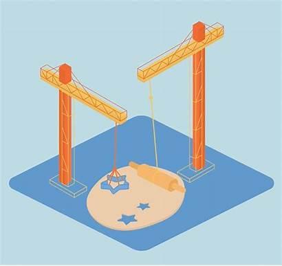 Construction Under Illustration Web Animated Animation Project