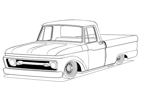 gmc truck coloring pages  getcoloringscom  printable colorings pages  print  color