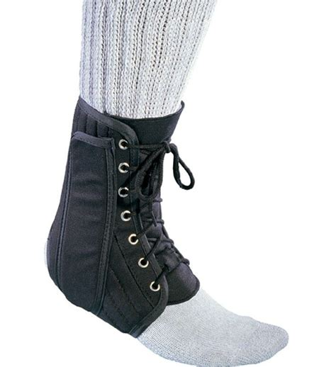 procare deluxe lace  ankle brace support stabilizer