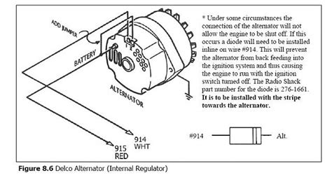 Chevy Truck Wiring Diagram With One Wire Alternator