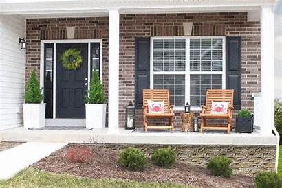Wall Foundation Concrete Airstone Porch Siding Wood