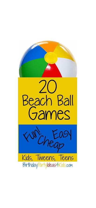 Games Beach Ball Teens Adults Tweens