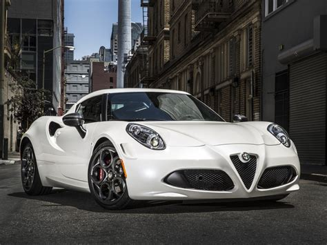 Alfa Romeo 4c Soldiers On For 2017 My, No Major Changes