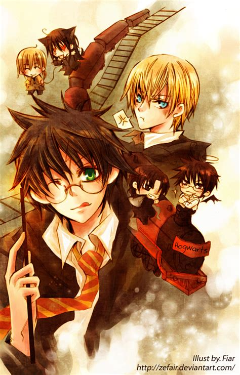 Anime Harry Potter Wallpaper - anime potter harry potter anime photo 24194581 fanpop