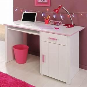 Ikea Bürostuhl Weiss : schreibtisch lilith f r kinder in wei rosa ~ Frokenaadalensverden.com Haus und Dekorationen
