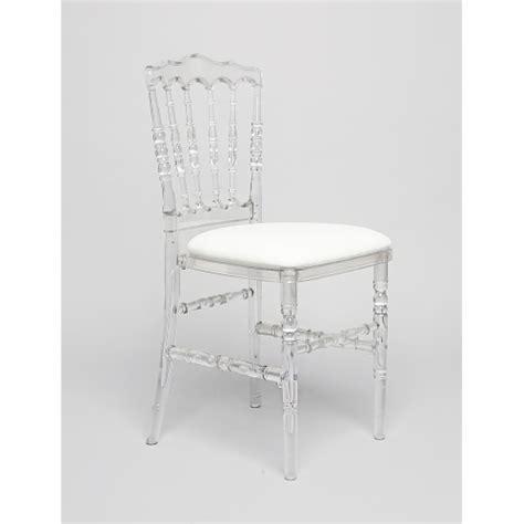 location chaise napoleon chaise napoléon transparente la boite à