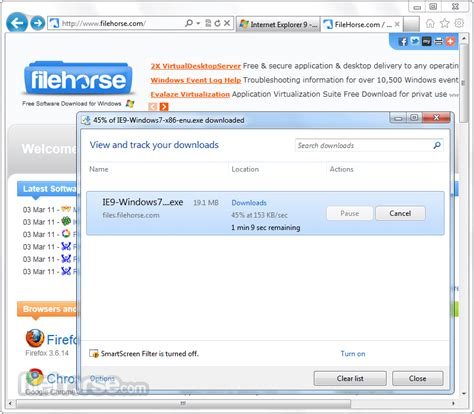 herunterladen ie6 windows 7 64 bit free