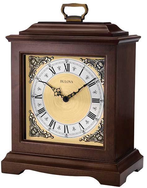 thomaston mantel clock by bulova engravable clocks