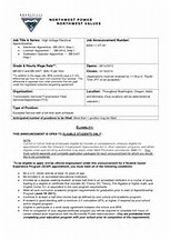 galerry apprentice lineman resume sample