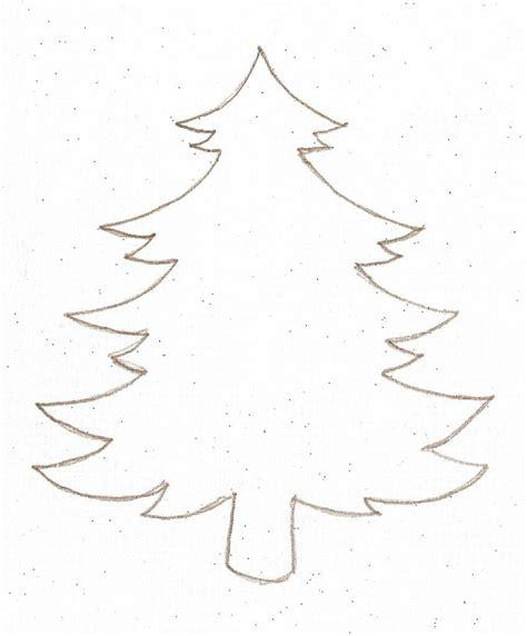 tannenbaum vorlage vorlagenschablonen pinterest