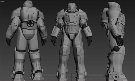 Power armor Prototype TX-027 at Fallout 4 Nexus - Mods and ...