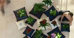 Pot De Fleur Interieur Design : d coration d 39 int rieur coussins pots de fleurs libel ~ Premium-room.com Idées de Décoration