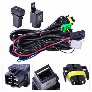 Dwcx Wiring Harness Sockets Wire Switch For H11 Fog Light