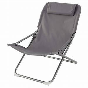 Fauteuil Relax De Jardin : fauteuil relax de jardin cueri gris hesp ride 1 place ~ Teatrodelosmanantiales.com Idées de Décoration