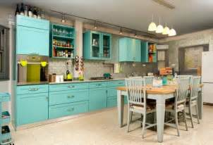 how to make kitchen island from cabinets turquoise kitchen decor with turquoise kitchen island