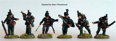 bh british  rifles command perry miniatures