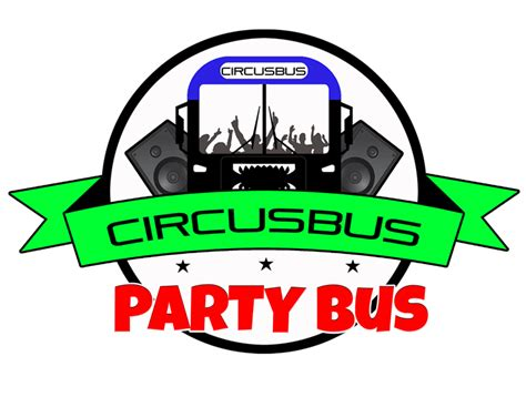 party bus logo circusbus party bus toronto more than a party bus