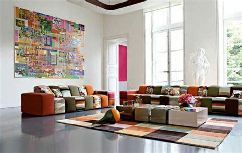 roche bobois si e social le tapis multicolore apportez des touches de joie dans l