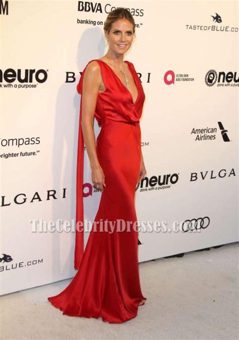 Heidi Klum Elton John Aids Foundation Academy Awards
