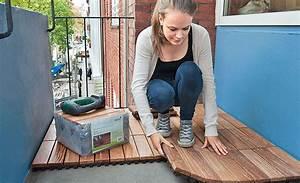 Balkon Holzboden Verlegen : balkon mit holz auslegen unterkonstruktion ~ Indierocktalk.com Haus und Dekorationen