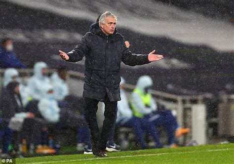 Mourinho snaps at TV reporter after being asked why he ...