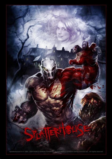 78 Best Images About Splatterhouse On Pinterest Rick And