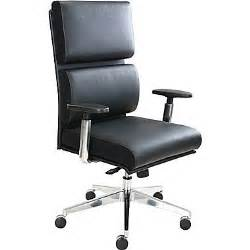 tempur pedic leather computer and desk office chair black