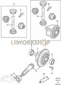 Crownwheel And Pinion - 2 Pin Front
