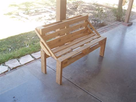 pallet bench project  steps  pictures instructables