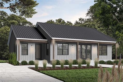 House Plan 76545 Cottage Style with 1604 Sq Ft 2 Bed 2